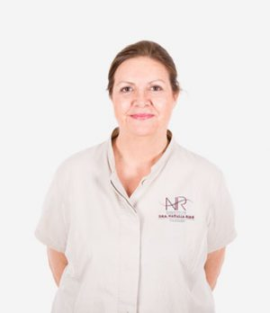 Carmen Jurado miembro del equipo de la clínica de medicina estética INR en Barcelona