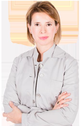 La Dra. Natalia Ribé en su Institut de Barcelona