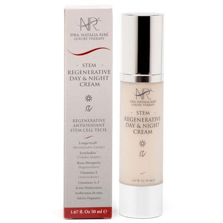 Crema de belleza para día y noche con activos regeneradores para tu piel