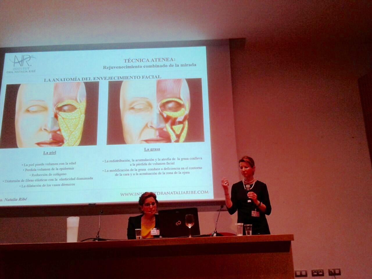 Conferencia de la Dra. Natalia Ribé en la Feria Cosmobelleza