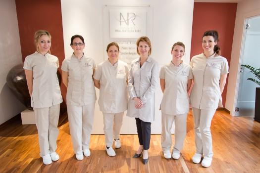 Equipo del Institut Natalia Ribé medicina estética Barcelona
