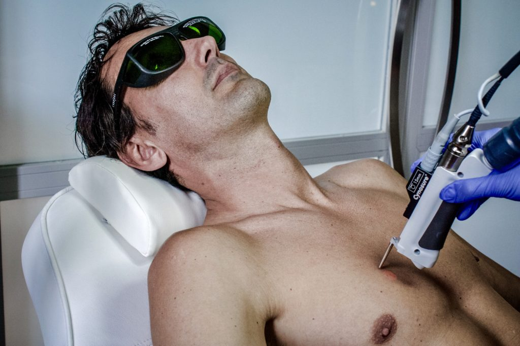 tecnología médica láser